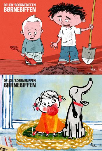 Plakat for filmen Børnebiffen – Filmpakke 21
