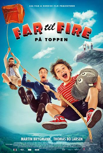 Plakat for filmen Far til fire - på toppen