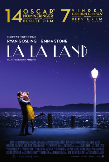 Plakat for filmen La La Land