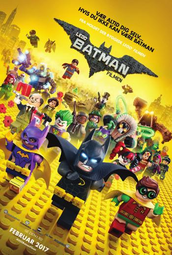 Plakat for filmen LEGO Batman filmen - Dansk tale