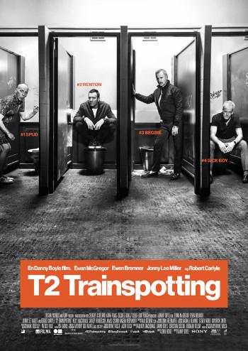 Plakat for filmen T2: Trainspotting